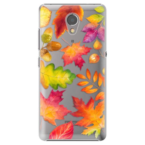 Plastové pouzdro iSaprio - Autumn Leaves 01 - Lenovo P2