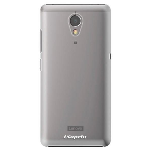 Plastové pouzdro iSaprio - 4Pure - mléčný bez potisku - Lenovo P2