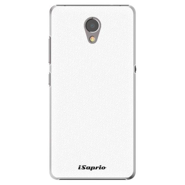 Plastové pouzdro iSaprio - 4Pure - bílý - Lenovo P2