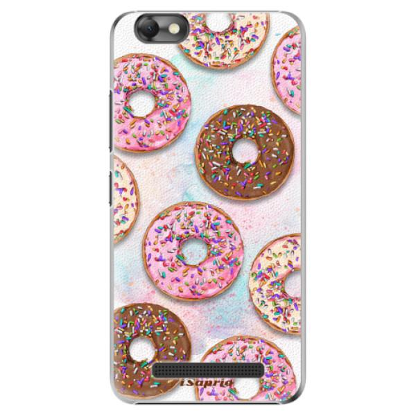 Plastové pouzdro iSaprio - Donuts 11 - Lenovo Vibe C