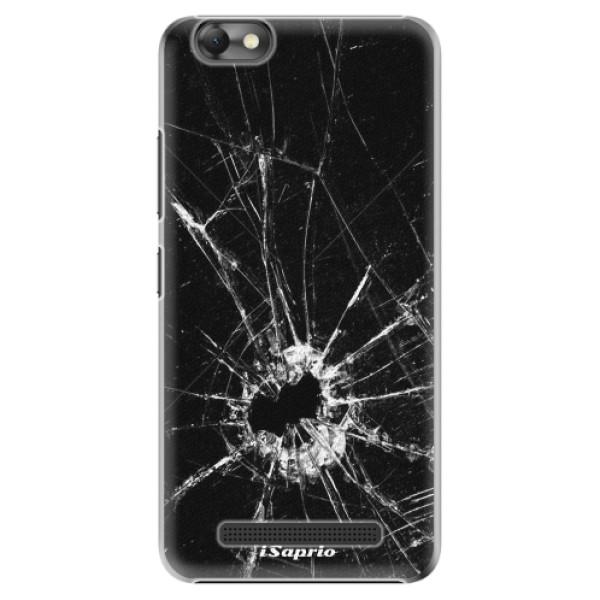 Plastové pouzdro iSaprio - Broken Glass 10 - Lenovo Vibe C
