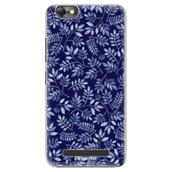 Plastové pouzdro iSaprio - Blue Leaves 05 - Lenovo Vibe C