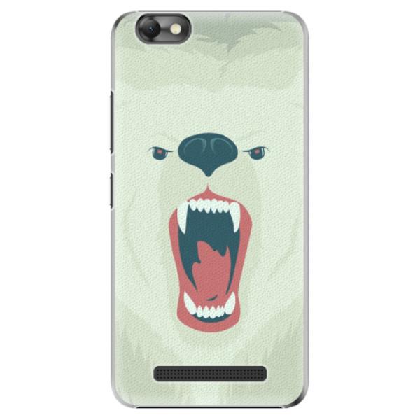 Plastové pouzdro iSaprio - Angry Bear - Lenovo Vibe C