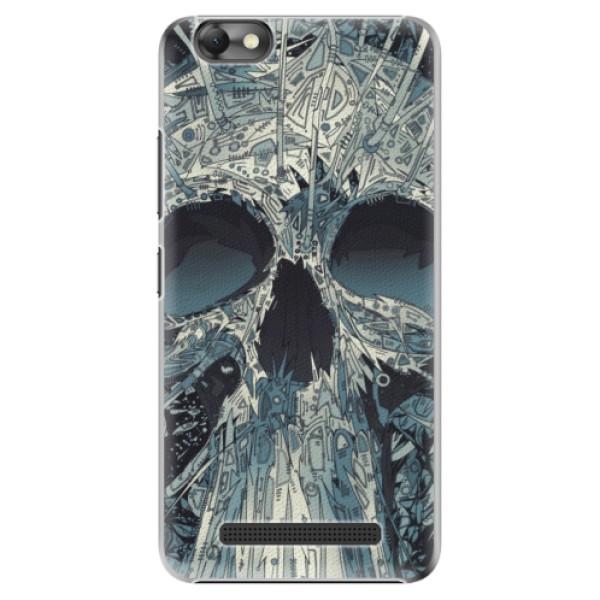 Plastové pouzdro iSaprio - Abstract Skull - Lenovo Vibe C