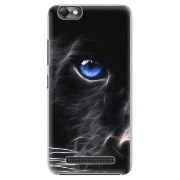 Plastové pouzdro iSaprio - Black Puma - Lenovo Vibe C
