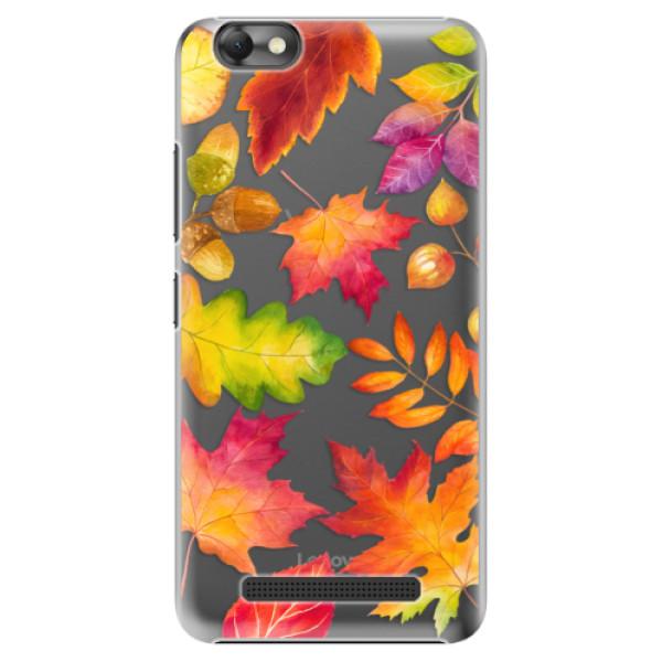 Plastové pouzdro iSaprio - Autumn Leaves 01 - Lenovo Vibe C