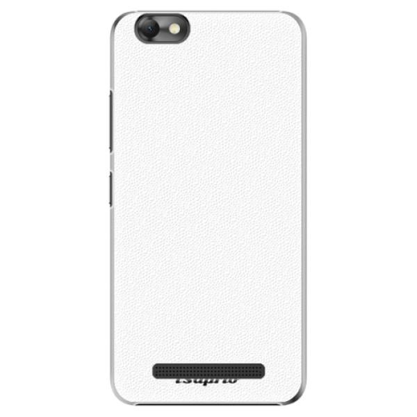 Plastové pouzdro iSaprio - 4Pure - bílý - Lenovo Vibe C