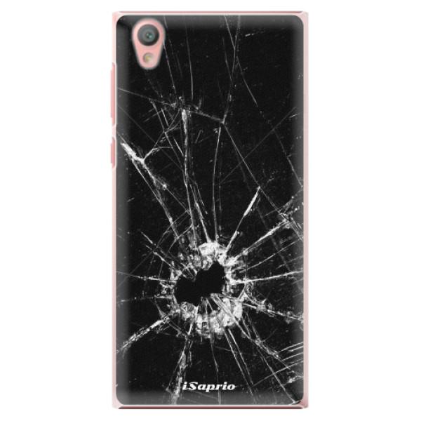Plastové pouzdro iSaprio - Broken Glass 10 - Sony Xperia L1