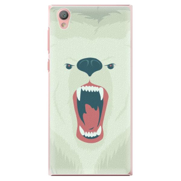 Plastové pouzdro iSaprio - Angry Bear - Sony Xperia L1
