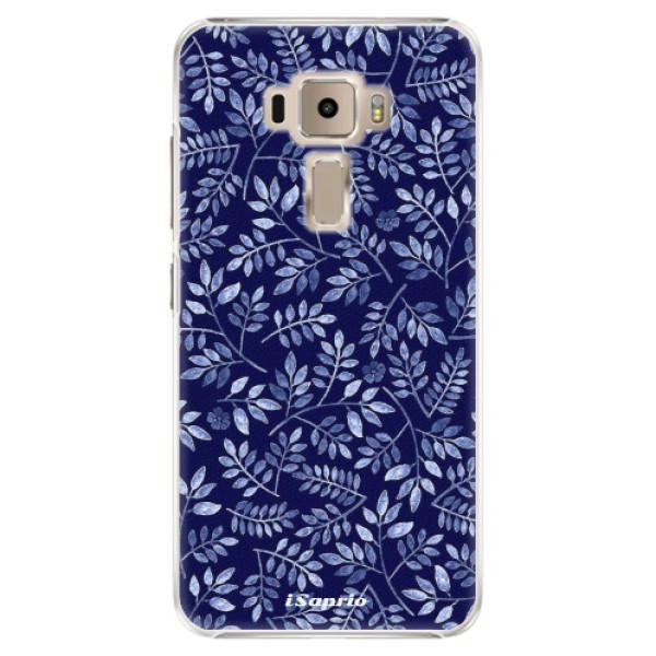 Plastové pouzdro iSaprio - Blue Leaves 05 - Asus ZenFone 3 ZE520KL