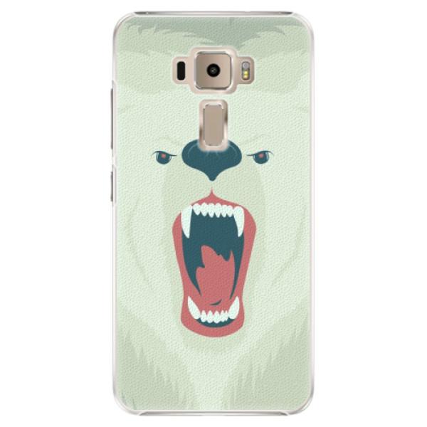 Plastové pouzdro iSaprio - Angry Bear - Asus ZenFone 3 ZE520KL