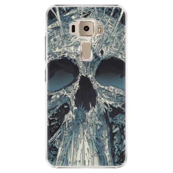 Plastové pouzdro iSaprio - Abstract Skull - Asus ZenFone 3 ZE520KL