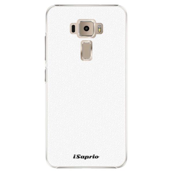 Plastové pouzdro iSaprio - 4Pure - bílý - Asus ZenFone 3 ZE520KL