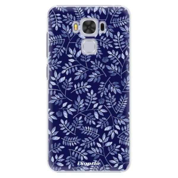 Plastové pouzdro iSaprio - Blue Leaves 05 - Asus ZenFone 3 Max ZC553KL
