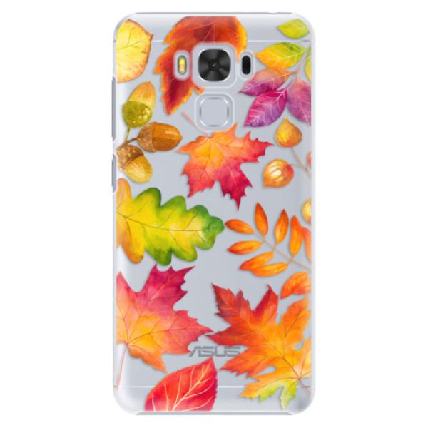 Plastové pouzdro iSaprio - Autumn Leaves 01 - Asus ZenFone 3 Max ZC553KL
