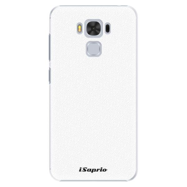 Plastové pouzdro iSaprio - 4Pure - bílý - Asus ZenFone 3 Max ZC553KL