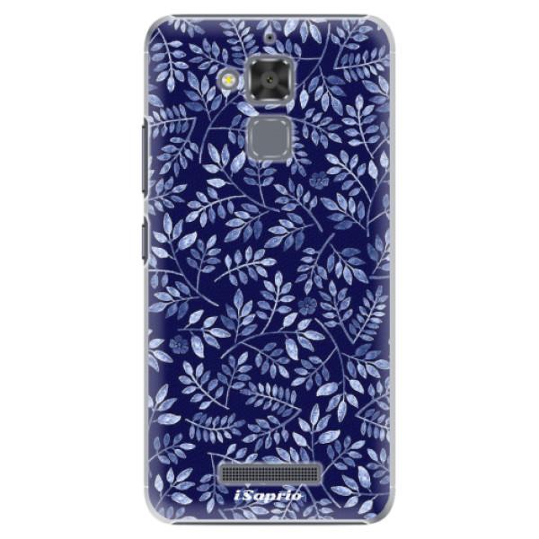 Plastové pouzdro iSaprio - Blue Leaves 05 - Asus ZenFone 3 Max ZC520TL