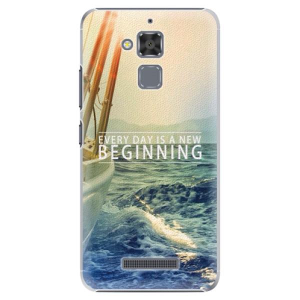 Plastové pouzdro iSaprio - Beginning - Asus ZenFone 3 Max ZC520TL
