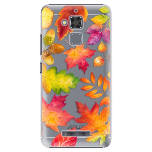 Plastové pouzdro iSaprio - Autumn Leaves 01 - Asus ZenFone 3 Max ZC520TL