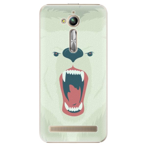Plastové pouzdro iSaprio - Angry Bear - Asus ZenFone Go ZB500KL