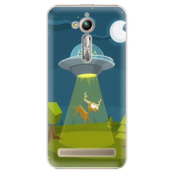 Plastové pouzdro iSaprio - Alien 01 - Asus ZenFone Go ZB500KL