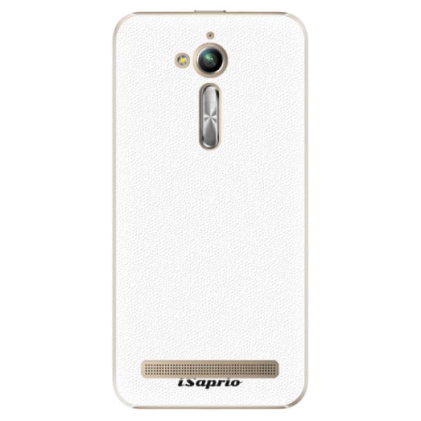 Plastové pouzdro iSaprio - 4Pure - bílý - Asus ZenFone Go ZB500KL