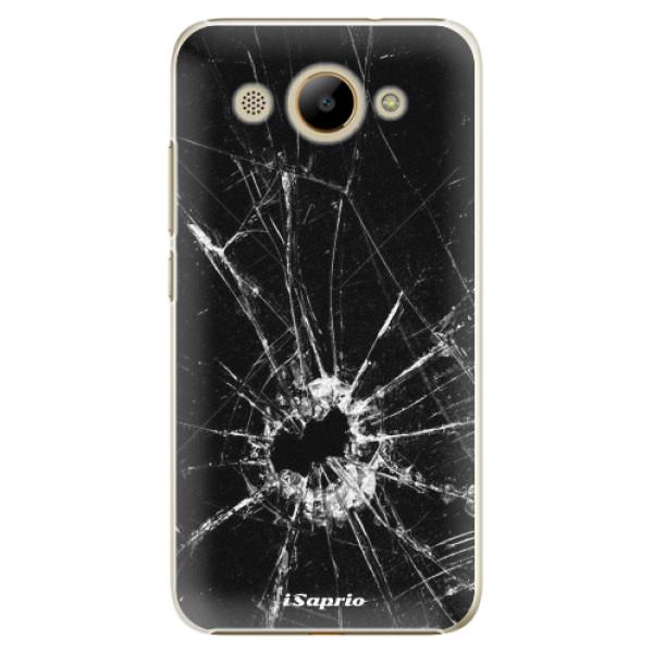 Plastové pouzdro iSaprio - Broken Glass 10 - Huawei Y3 2017