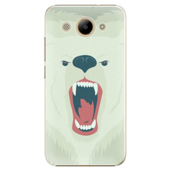 Plastové pouzdro iSaprio - Angry Bear - Huawei Y3 2017