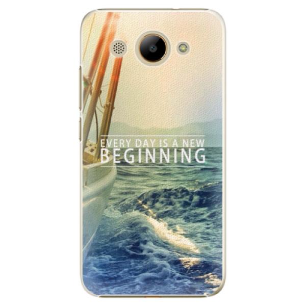 Plastové pouzdro iSaprio - Beginning - Huawei Y3 2017