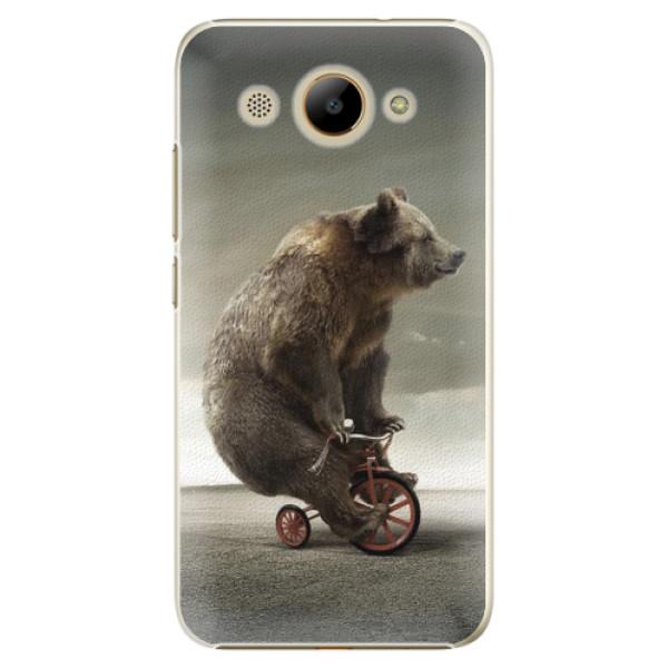 Plastové pouzdro iSaprio - Bear 01 - Huawei Y3 2017