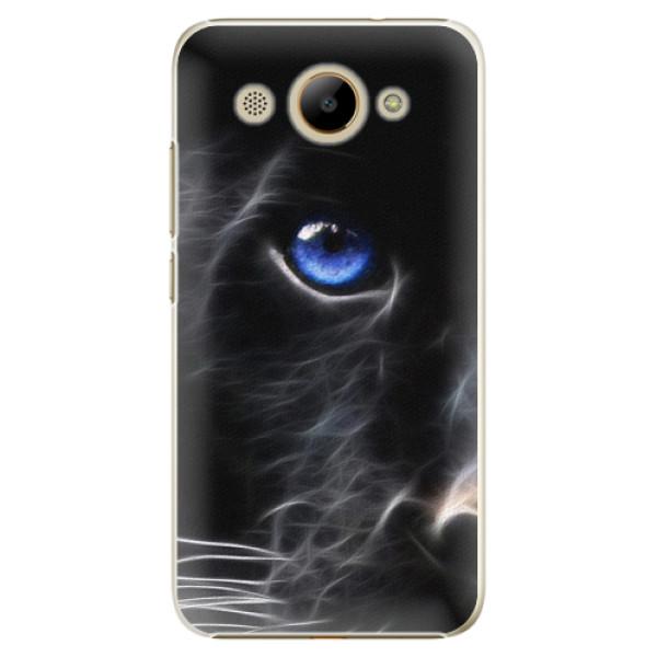 Plastové pouzdro iSaprio - Black Puma - Huawei Y3 2017