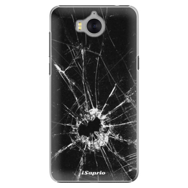Plastové pouzdro iSaprio - Broken Glass 10 - Huawei Y5 2017 / Y6 2017