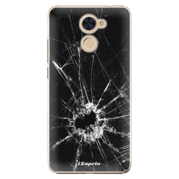 Plastové pouzdro iSaprio - Broken Glass 10 - Huawei Y7 / Y7 Prime