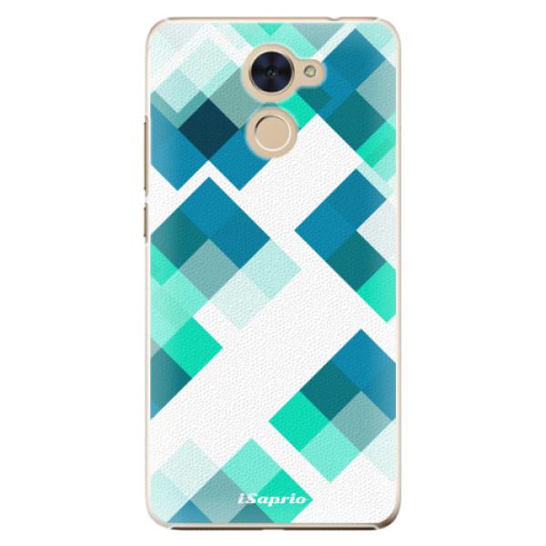 Plastové pouzdro iSaprio - Abstract Squares 11 - Huawei Y7 / Y7 Prime