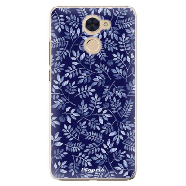 Plastové pouzdro iSaprio - Blue Leaves 05 - Huawei Y7 / Y7 Prime