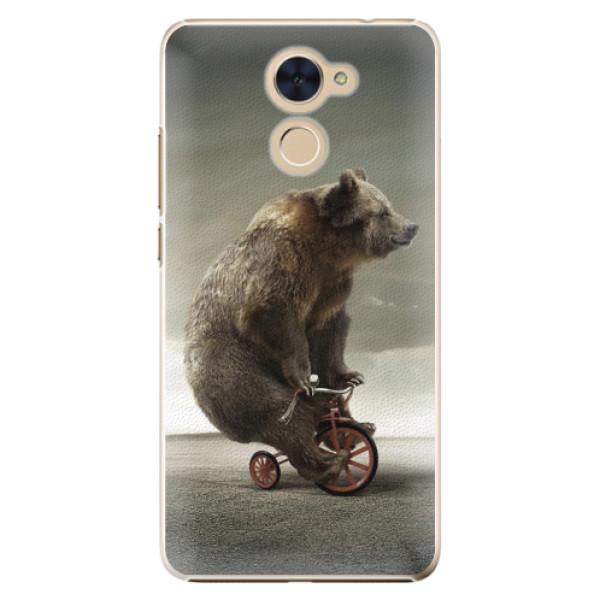 Plastové pouzdro iSaprio - Bear 01 - Huawei Y7 / Y7 Prime