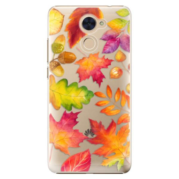 Plastové pouzdro iSaprio - Autumn Leaves 01 - Huawei Y7 / Y7 Prime