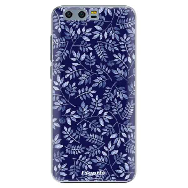 Plastové pouzdro iSaprio - Blue Leaves 05 - Huawei Honor 9