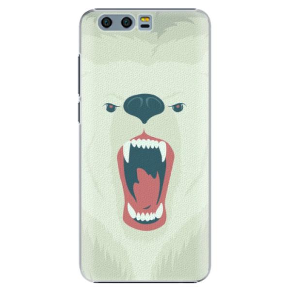 Plastové pouzdro iSaprio - Angry Bear - Huawei Honor 9