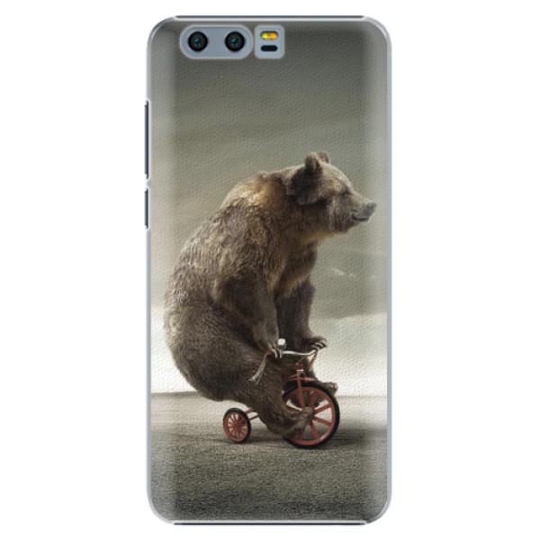Plastové pouzdro iSaprio - Bear 01 - Huawei Honor 9