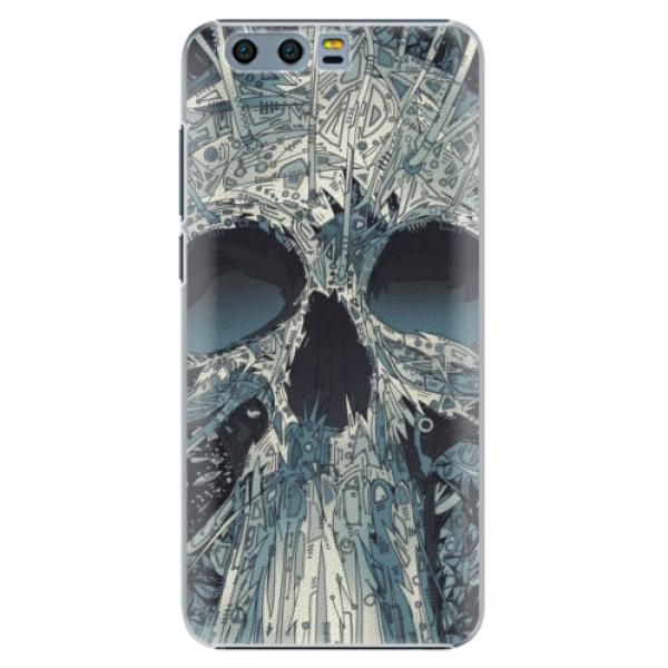 Plastové pouzdro iSaprio - Abstract Skull - Huawei Honor 9