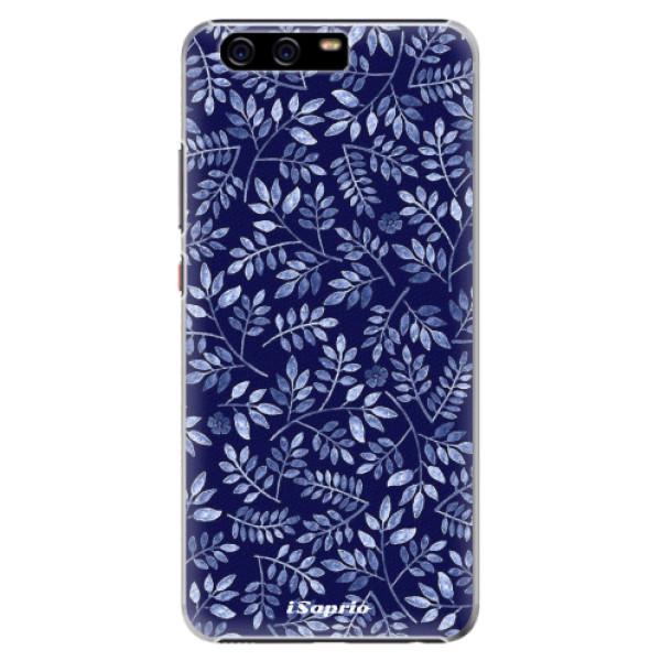 Plastové pouzdro iSaprio - Blue Leaves 05 - Huawei P10 Plus