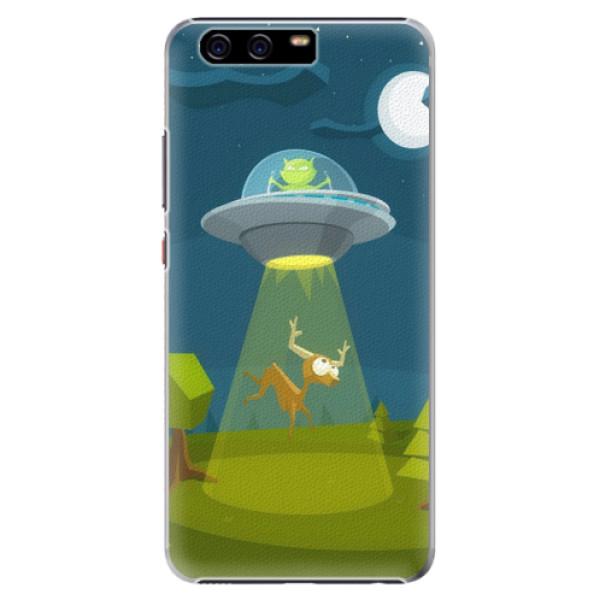 Plastové pouzdro iSaprio - Alien 01 - Huawei P10 Plus