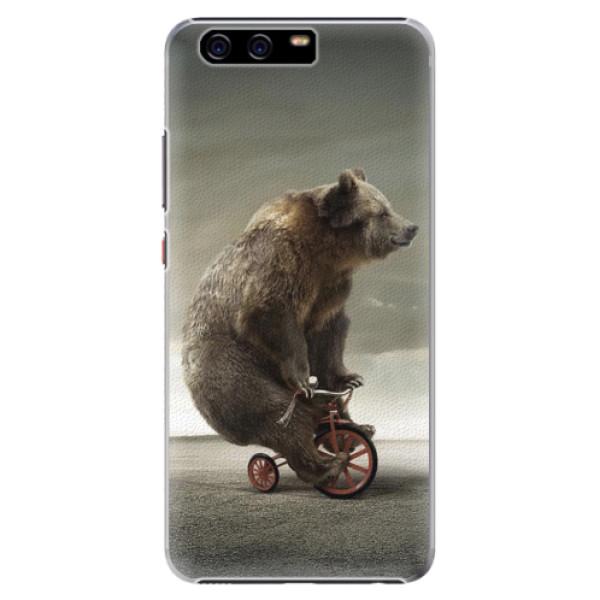 Plastové pouzdro iSaprio - Bear 01 - Huawei P10 Plus