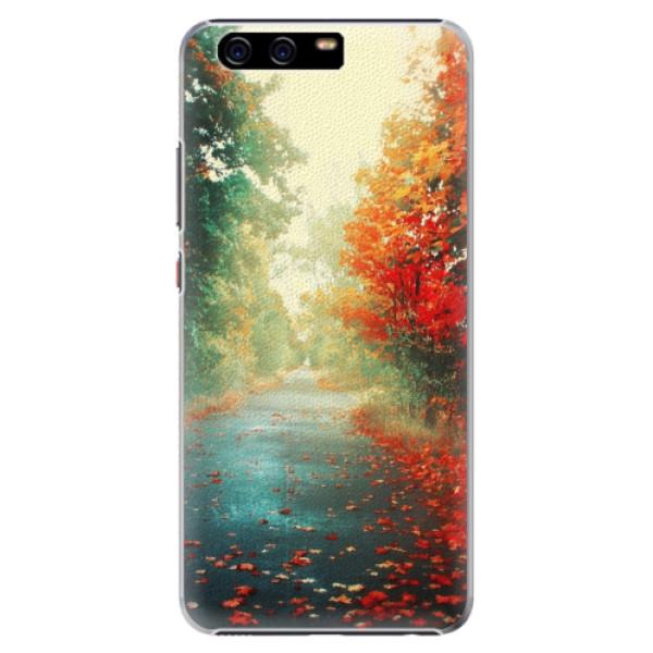 Plastové pouzdro iSaprio - Autumn 03 - Huawei P10 Plus