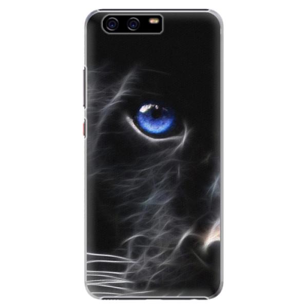 Plastové pouzdro iSaprio - Black Puma - Huawei P10 Plus