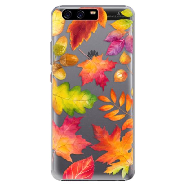 Plastové pouzdro iSaprio - Autumn Leaves 01 - Huawei P10 Plus