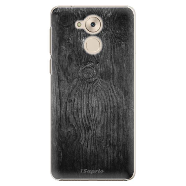 Plastové pouzdro iSaprio - Black Wood 13 - Huawei Nova Smart