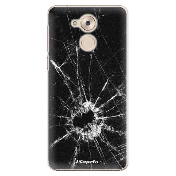 Plastové pouzdro iSaprio - Broken Glass 10 - Huawei Nova Smart