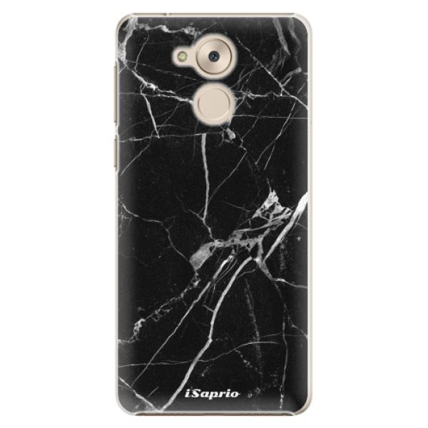 Plastové pouzdro iSaprio - Black Marble 18 - Huawei Nova Smart